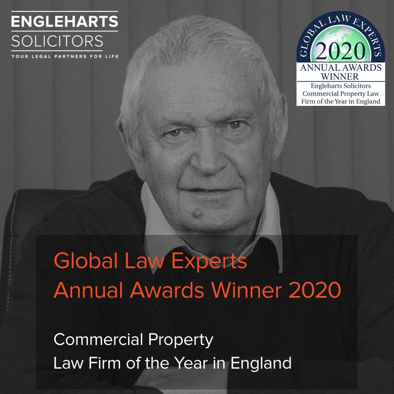 Engleharts Solicitors - Global Law Experts Award Slide